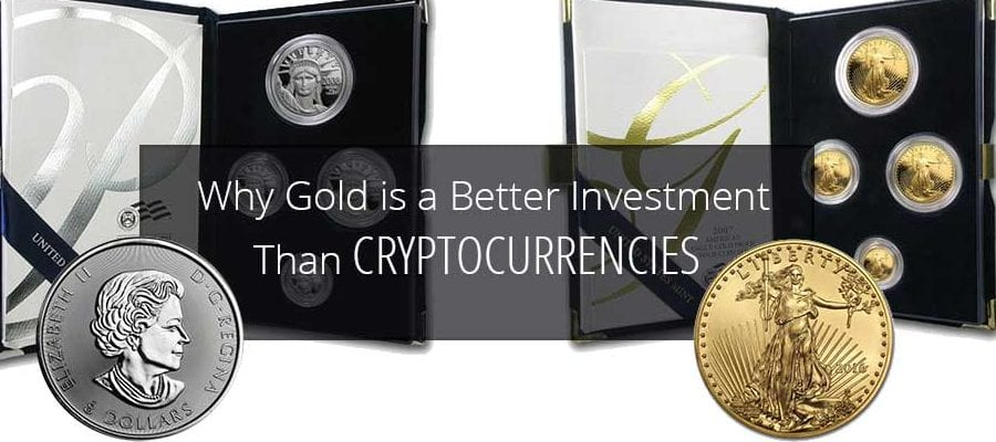 Gold vs Crypto currency