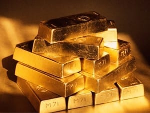 Gold in striking distance of $1,600 despite strong rise in New York Fed survey