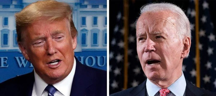 Trump and Biden 2020