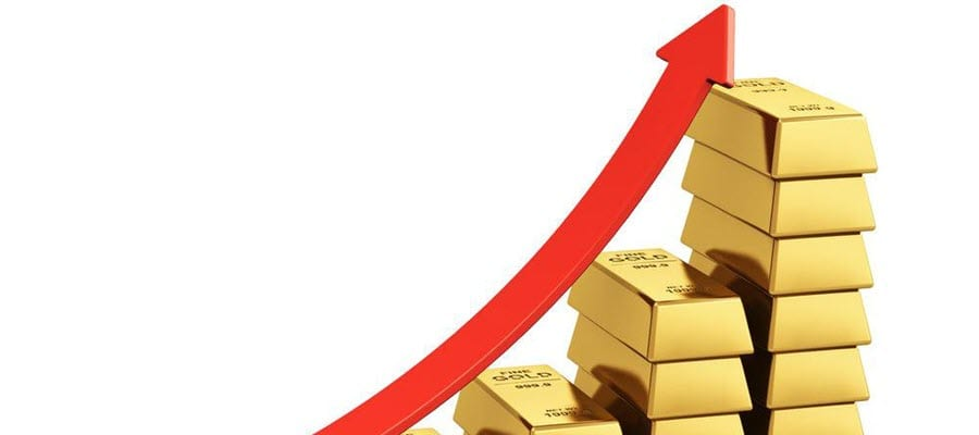 Gold price going up